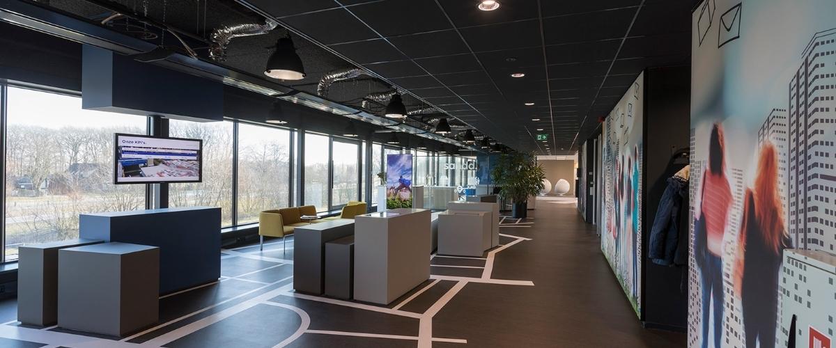 Herinrichting eerste verdieping Sandd hoofdkantoor, Apeldoorn - Vense Projecten